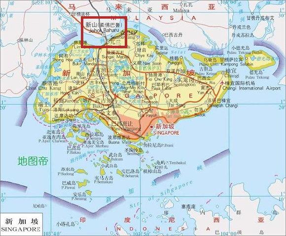 大陸在香港旁建深圳,馬來西亞在新加坡旁建新山