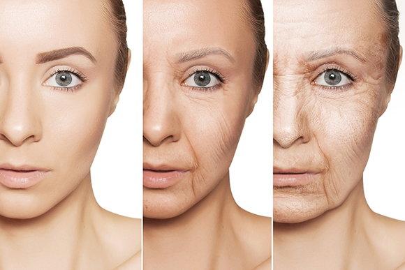 皮肤老化失去弹性越来越没光泽