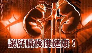 讓腎臟恢復健康!