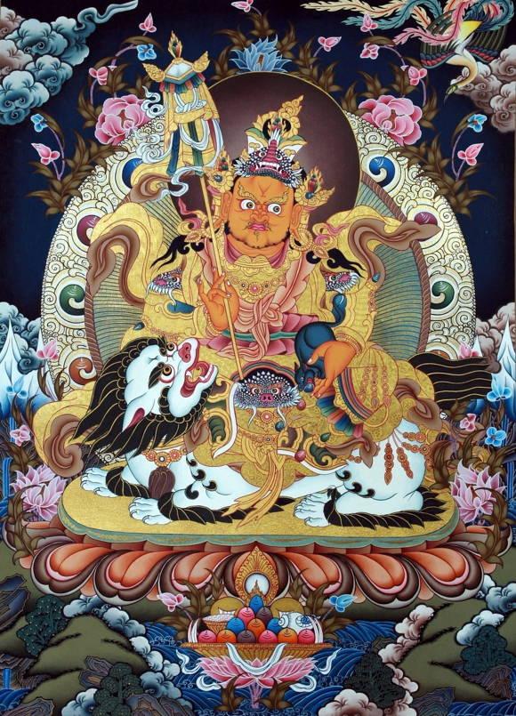 藏傳佛教中掌管財寶富貴的財寶天王!